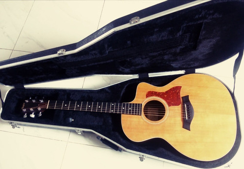 Guitarra Taylor 214 Ce Con Estuche Gator