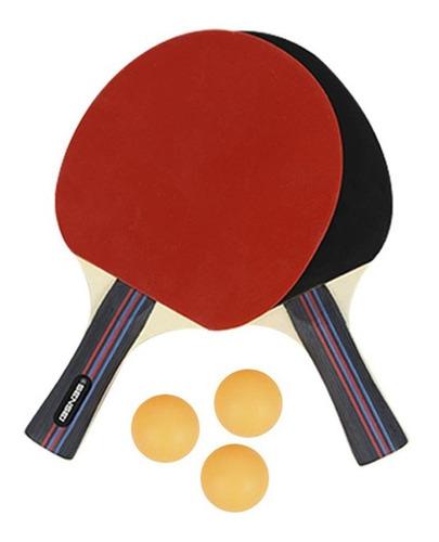 Imagen 1 de 2 de Drb Set Ping Pong - Sensei 2pal3pel Rojne