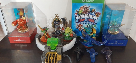 Skylanders Trap Team Xbox One C/base E Personagens Originais