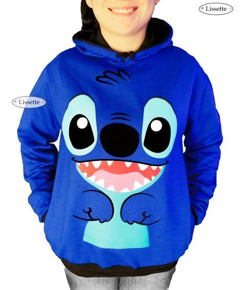 $299 Stitch Chamarra Sudadera Hoodie Abrigo Disney Sueter
