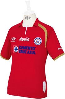 Jersey Original Umbro Maquina Cruz Azul Gala 50 Roja 2014