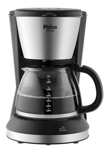 Cafeteira Elétrica Philco Plus Preto 220v - Ph14