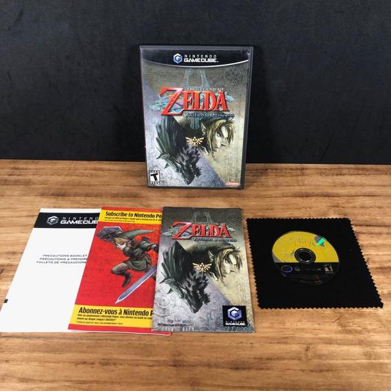Zelda Twilight Princess Original Completíssimo P/ Gamecube!!