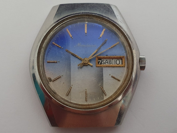 Mondaine Automático Day-date Caliber Eta 2878 Cx06