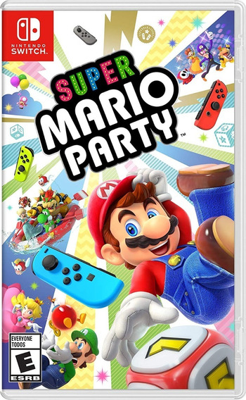 Jogog Super Mario Party - Nintendo Switch - Novo