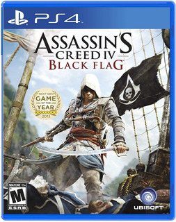 Assassins Creed 4 Black Flag / Juego Físico / Ps4