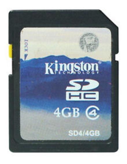 Kit 2 Cartão De Memória Sd 4 Gb Kingston