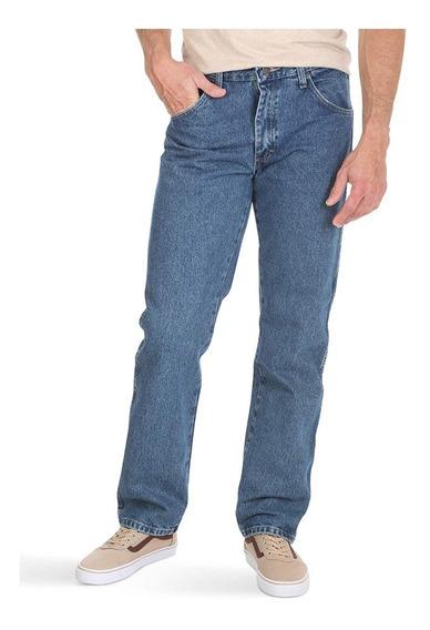 Pantalon Hombre Wrangler Mezclilla Clasico Relaxed Original