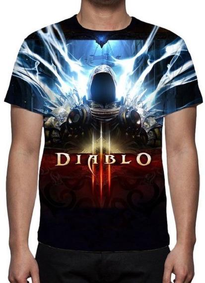 Camiseta Diablo 3 Mod 03 - Promoção