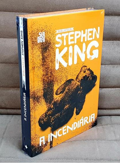 Livro A Incendiária Biblioteca Stephen King ( Capa Dura )