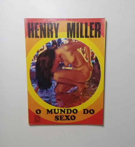 2 Livros: Trópico De Cancêr / O Mundo Do Sexo - Henry Miler