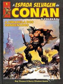 Coleção A Espada Selvagem De Conan Ed.1 - Capa Dura