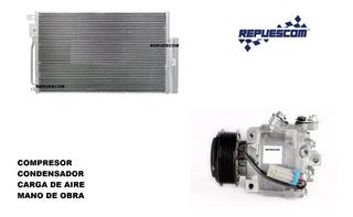 Compresor Condensador Con Colocacion Spin - Prisma - Onix