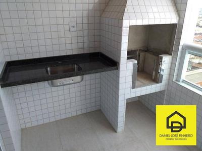 Locação 2 Dorm Com Planejados Na Cozinha - Aviação/praia Grande - Ap0204