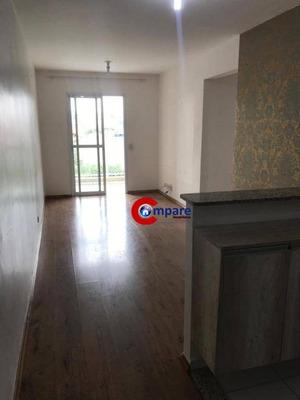Apartamento Com 2 Dormitórios Para Alugar, 57 M² Por R$ 1.160/mês - Vila Galvão - Guarulhos/sp - Ap7216