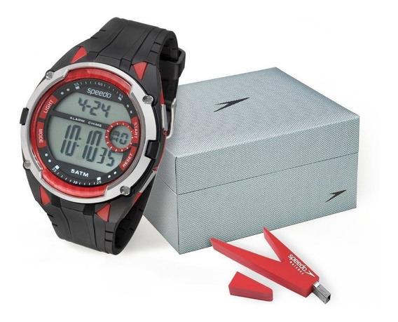 Kit Relógio Speedo Masculino 81148g0evnp1k2 C/ Garantia E Nf