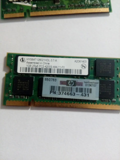 Infineon 1gb Pc2-4200 Ddr2-533 200-pin Sodimm Hys64t128021hd