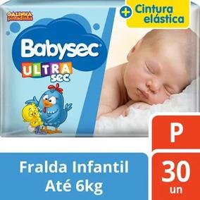 Fralda Babysec Galinha Pintadinha Ultrasec P 30 Unidades