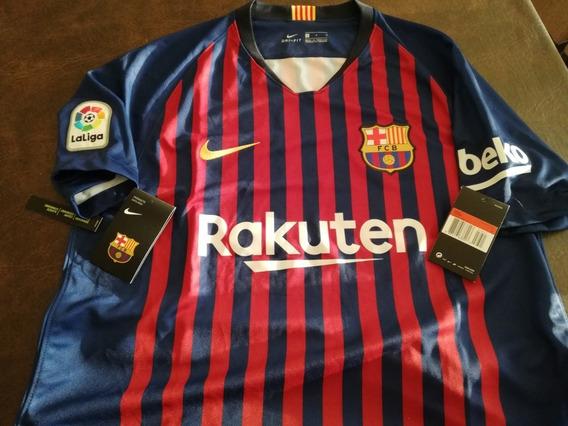 Camiseta Barcelona Stadium Jsy Nike, Original 18/19