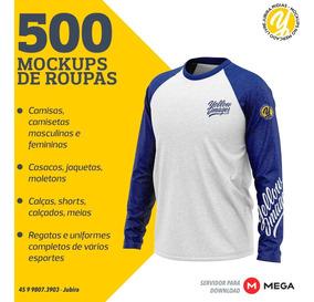 500 Mockups Yellow - Roupas Em Geral E Uniformes De Esportes