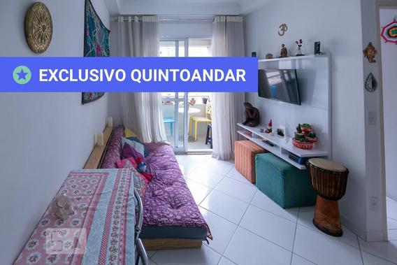 Apartamento No 9º Andar Com 1 Dormitório E 1 Garagem - Id: 892989630 - 289630