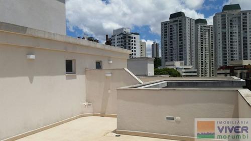 Imagem 1 de 15 de Panamby, Linda Cobertura Duplex - Nm2190