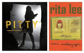 Livros Pitty & Rita Lee Biografia Cronografia + Frete Grátis