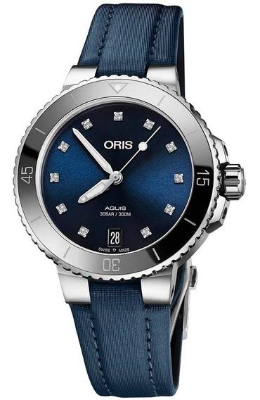 Oris Aquis Con 11 Diamantes 73377314195 Automático