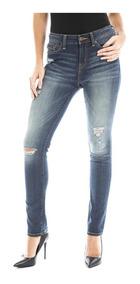 Pantalón Denizen® Mujer Azul Super Skinny Crush Den