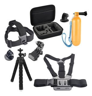 Kit Gopro 5 6 7 Contour Roam3 Nikon Keymission Pictek Intova