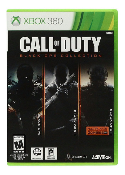 Call Of Duty: Black Ops Collection Mídia Fisica - Xbox 360