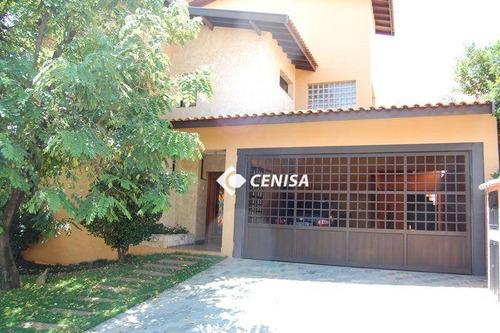 Imagem 1 de 30 de Casa Com 3 Dormitórios À Venda, 353 M² - Condomínio Village Terras De Indaiá - Indaiatuba/sp - Ca2647