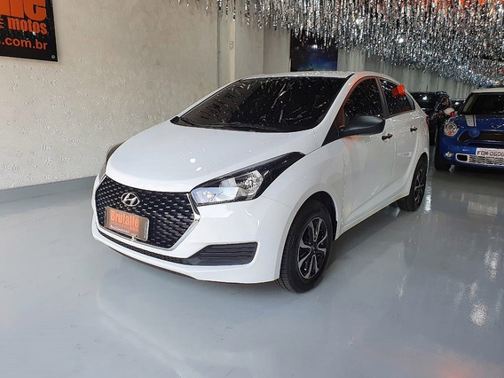 Hyundai Hb 20 S 1.0 Flex Unique 2019 Branco