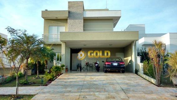 Sobrado Com 4 Dormitórios À Venda, 280 M² Por R$ 1.200.000,00 - Condomínio Yucatan - Paulínia/sp - So0197
