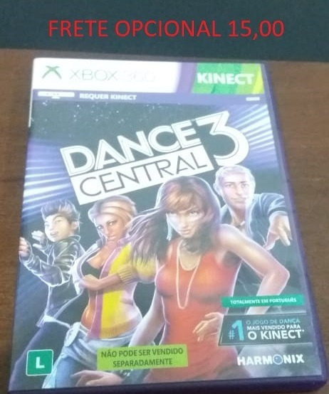 Dance Central 3 Original Mídia Física Xbox 360