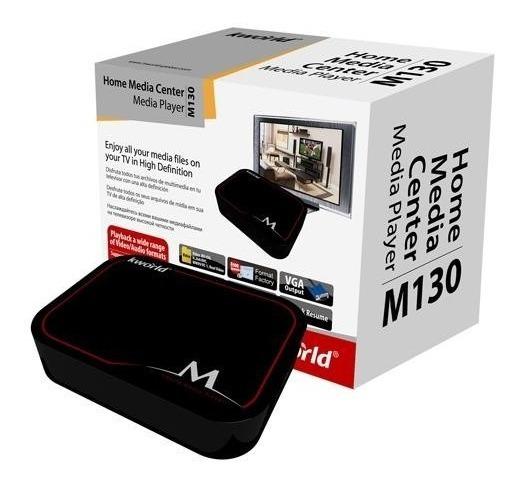 Media Player Kworld M130 Box 1080p Hdmi Vga Usb Sd