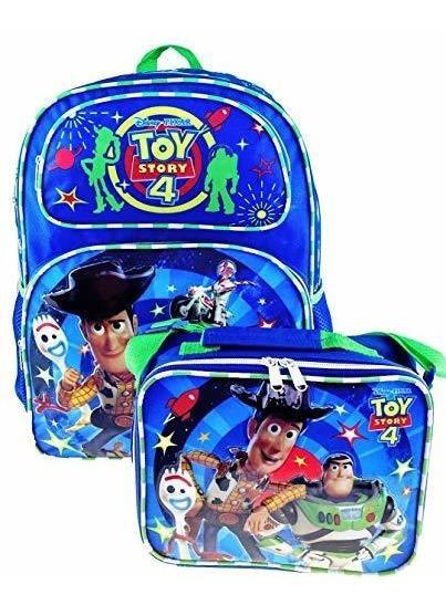 Mochila Exclusiva De Toy Story 4 16 Y Bolso De Almuerzo Aisl