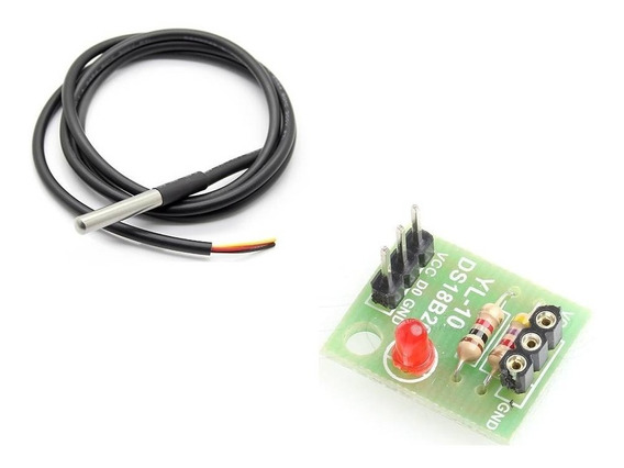 Kit 5 Sensores De Temperatura Ds18b20 Prova D