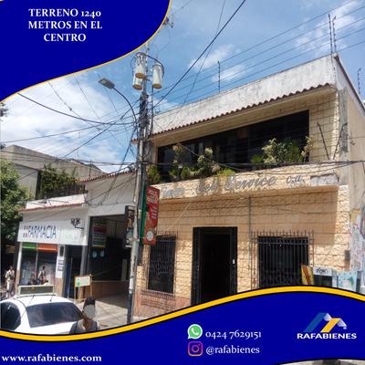 Terreno Locales 1244 Metros En Pleno Centro De Mérida