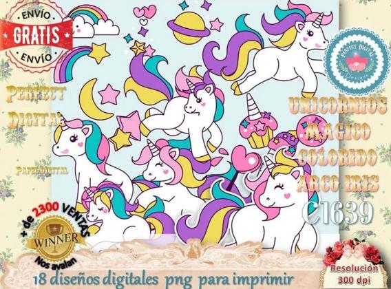Kit Imprimible De Unicornios