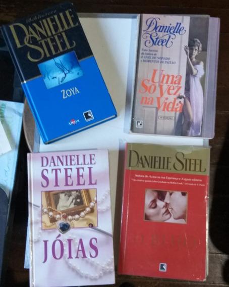 Lote 4 Livros - Danielle Steel - Literatura Estrangeira