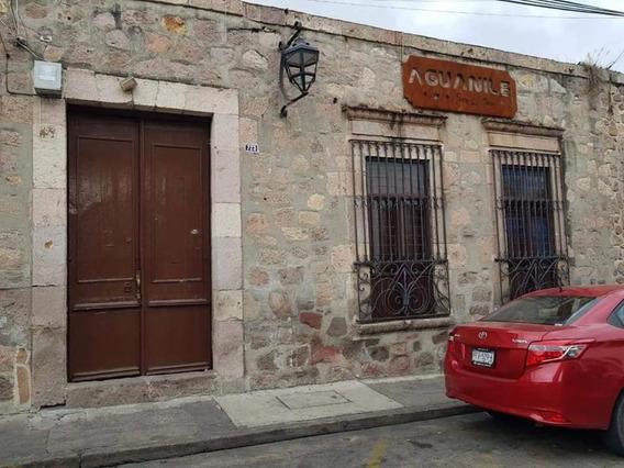 Hermosa Casona En Centro Historico En Morelia