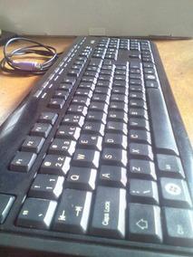 Teclado Computador Pc , Entrada Ps2 , Teclas De Atalho