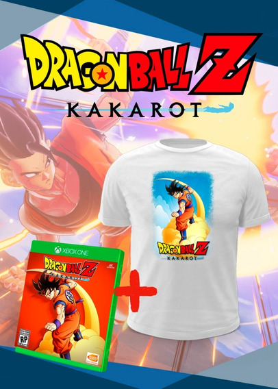 Dragon Ball Z Kakarot + Camiseta - Xbox One Midia Fisica