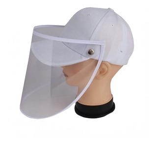 Careta De Proteccion Facial Con Gorra/cachucha Con Velcro