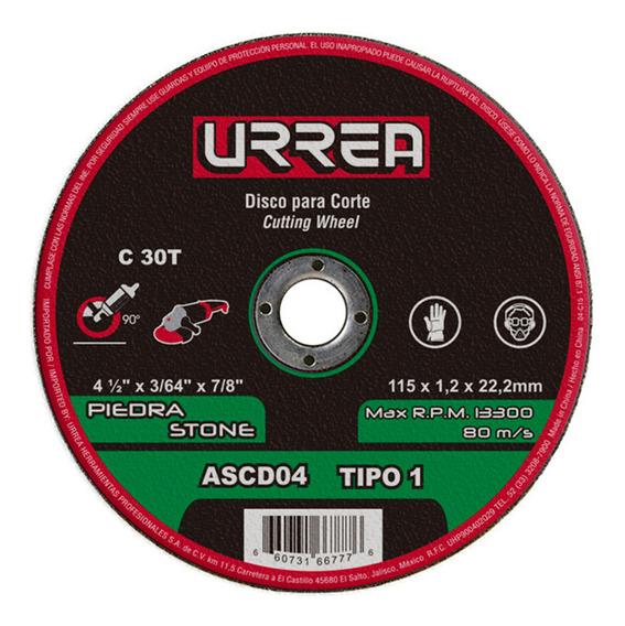 Disco Abrasivo 1 P/piedra 4-1/2 X 3/64 ,cod.ascd04