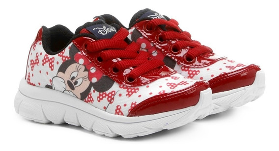 Tênis Infantil Minnie Disney