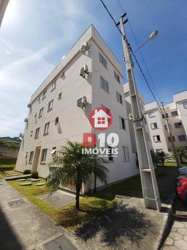 Apartamento Com 2 Dormitórios À Venda Por R$ 140.000,00 - Presidente Vargas - Içara/sc - Ap3007
