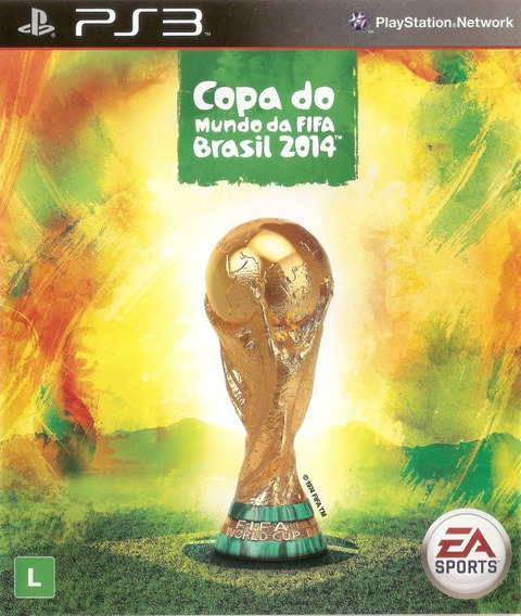 Jogo Copa Do Mundo Fifa Brasil 2014 Playstation 3 Ps3 Game