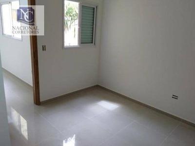 Cobertura Com 1 Dormitório À Venda, 66 M² Por R$ 200.000 - Vila Curuçá - Santo André/sp - Co3295